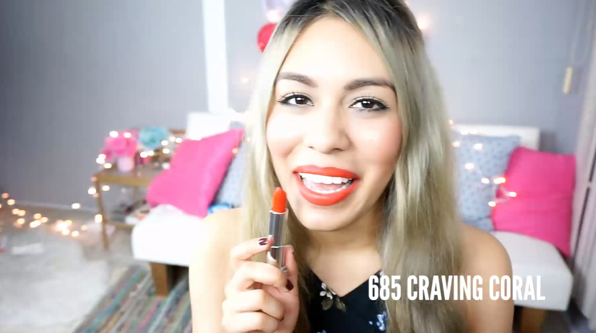 Labiales Maybelline mate craving coral