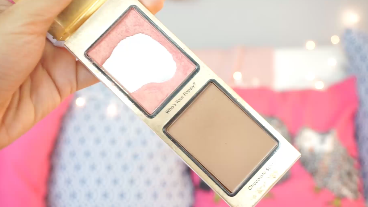 Maquillaje resistente al calor too faced whos your poppy