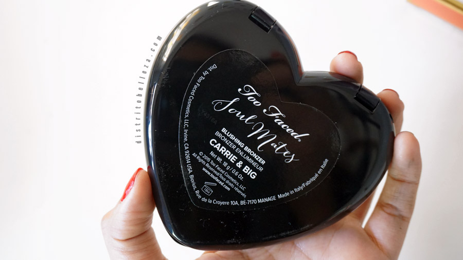 Rubor Too Faced soul mates empaque posterior