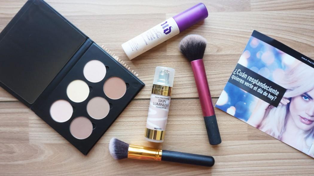 Base Max Factor skin luminizer distrito belleza