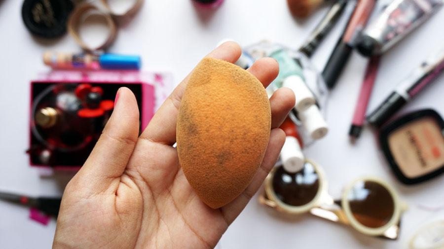Como secar una esponja de maquillaje con hongos