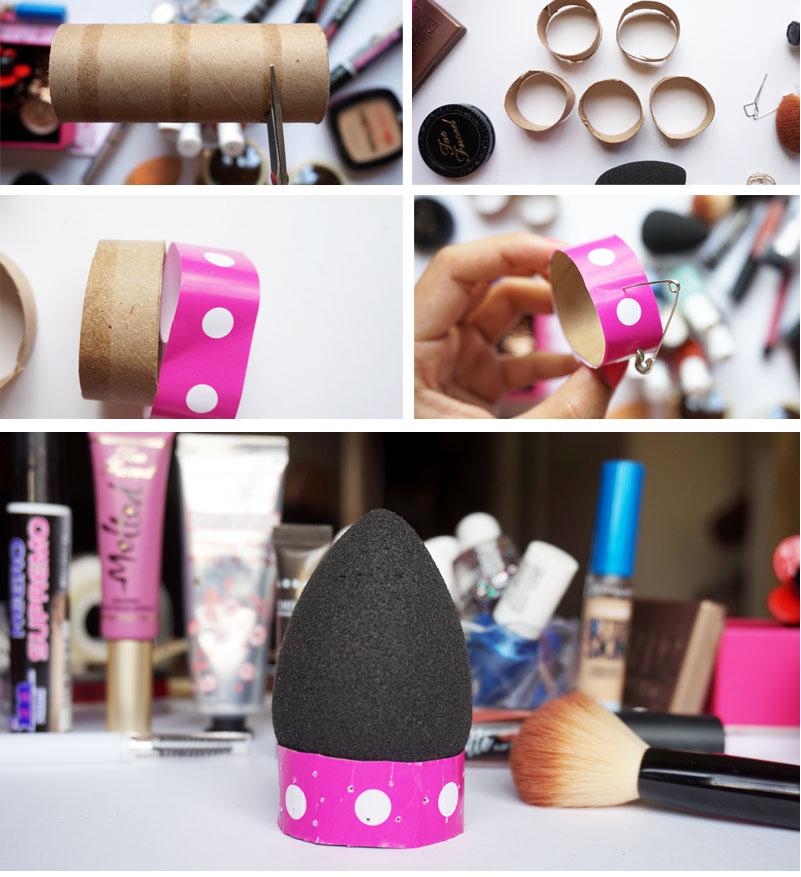 Como secar una esponja de maquillaje