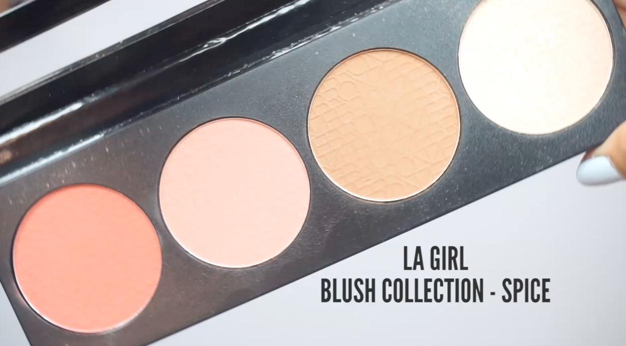 maquillaje regreso a clases la girl blush collection spice