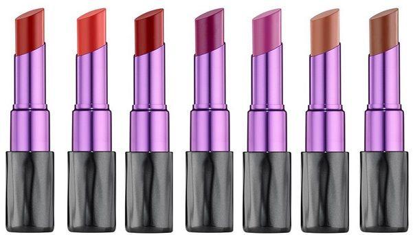 Colecciones de maquillaje septiembre 2015 urban decay lipsticks