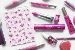 Maquillaje edición especial mes rosa distrito belleza