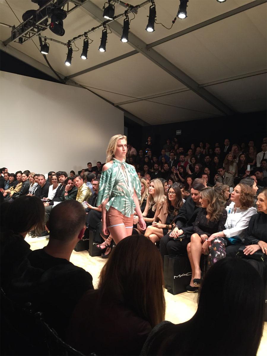Mercedes Benz Fashion Week México 2015