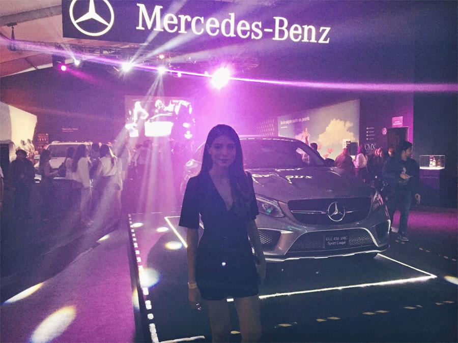 Mercedes Benz Fashion Week México 2015 cindy