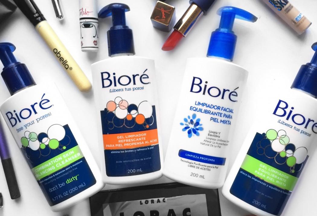 limpiador facial Bioré distrito belleza