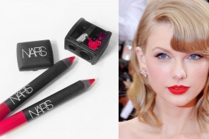Labial rojo de taylor swift