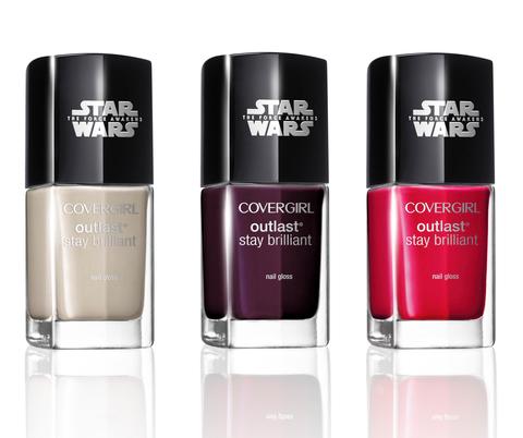 colección star wars covergirl esmaltes