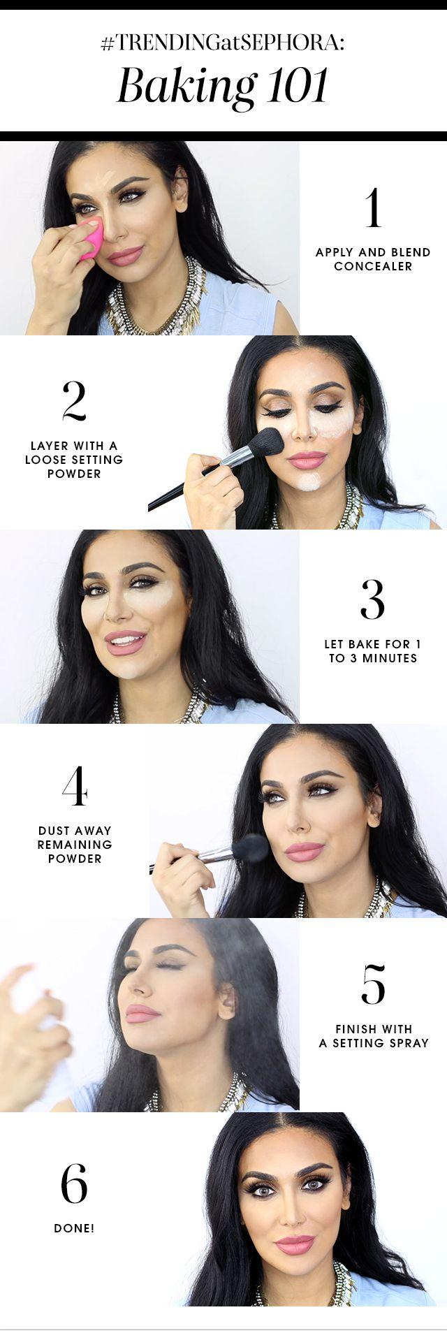 técnica de maquillaje baking