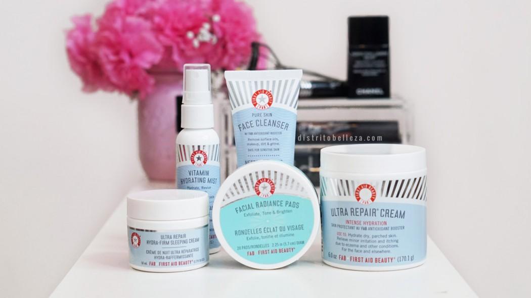 Productos First Aid Beauty distrito belleza