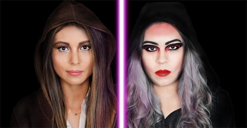 maquillaje star wars distrito belleza