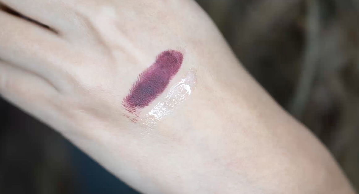 Labial Ariana Grande MAC swatch