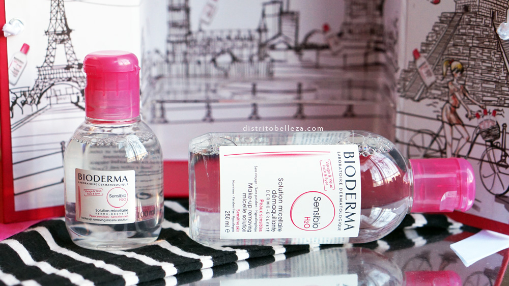 Para que sirve el agua micelar bioderma