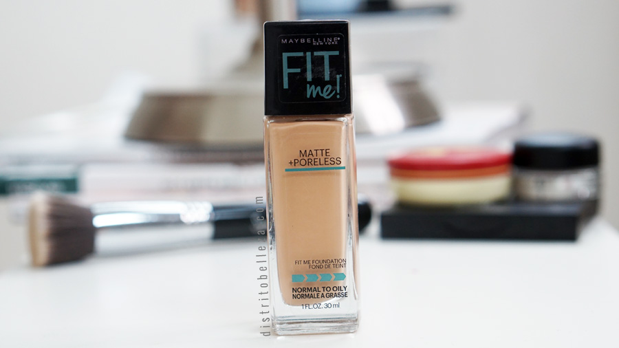 Base Maybelline Fit me Matte