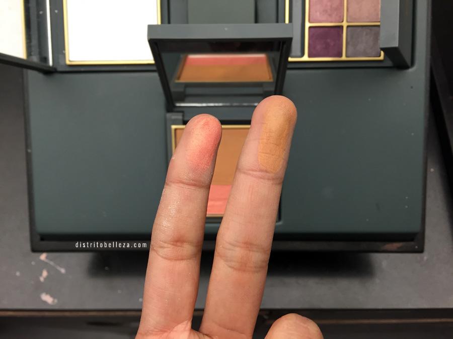 Colección MAC Zac Posen bronceador y rubor swatches