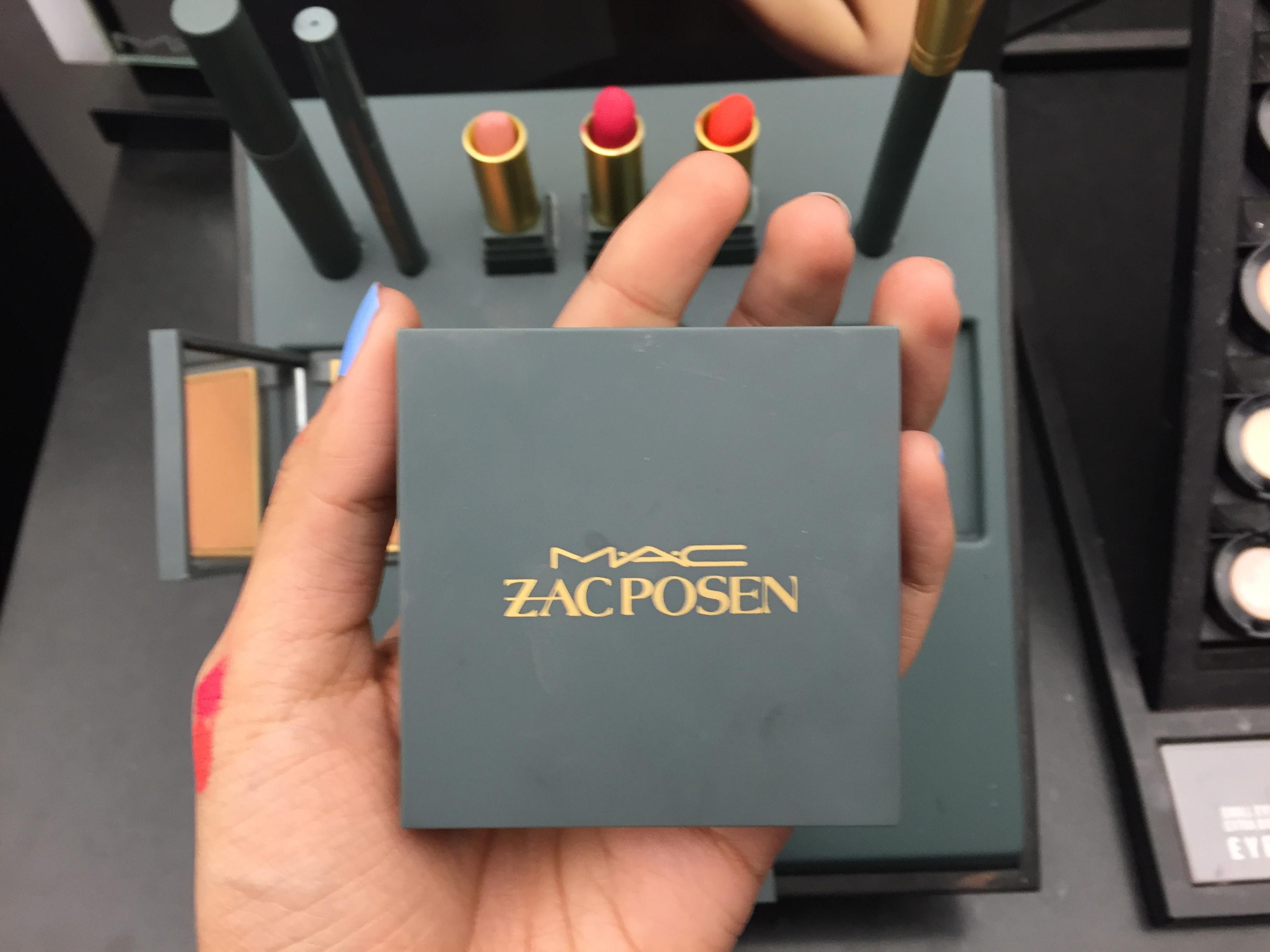 Colección MAC Zac Posen empaque