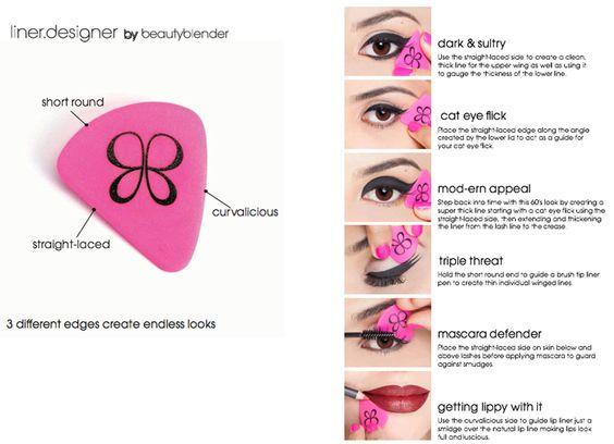 Colecciones de maquillaje primavera 2016 beabuty blender liner designer