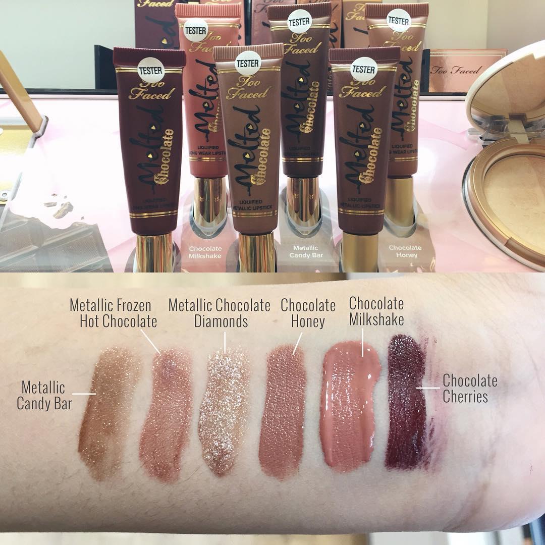 Colecciones de maquillaje primavera 2016 labiales melted chocolate