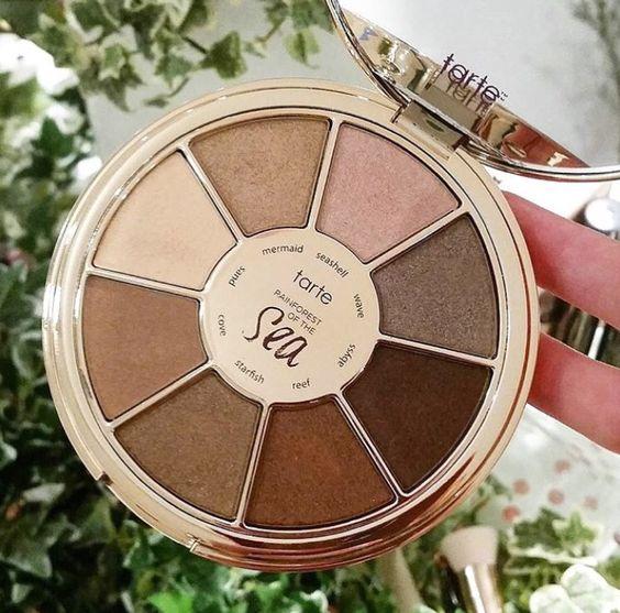 Colecciones de maquillaje primavera 2016 tarte rain forest of the sea palette