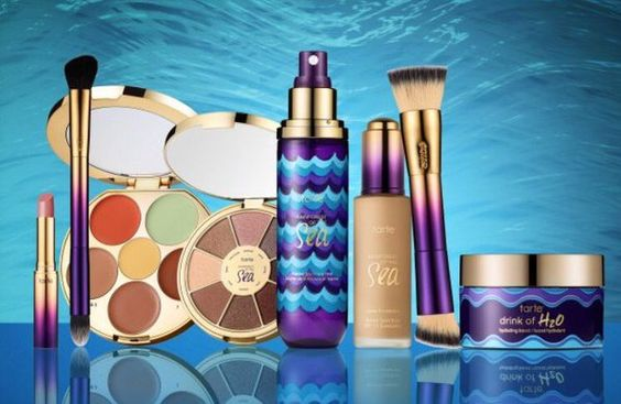 Colecciones de maquillaje primavera 2016 tarte rain of the sea