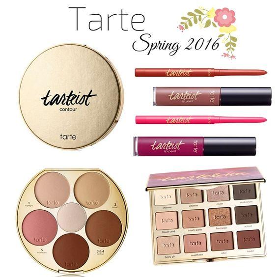 Colecciones de maquillaje primavera 2016 tarte