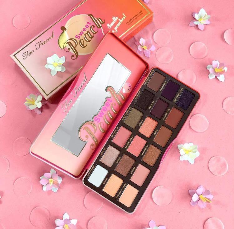 Colecciones de maquillaje primavera 2016 too faced sweet peach