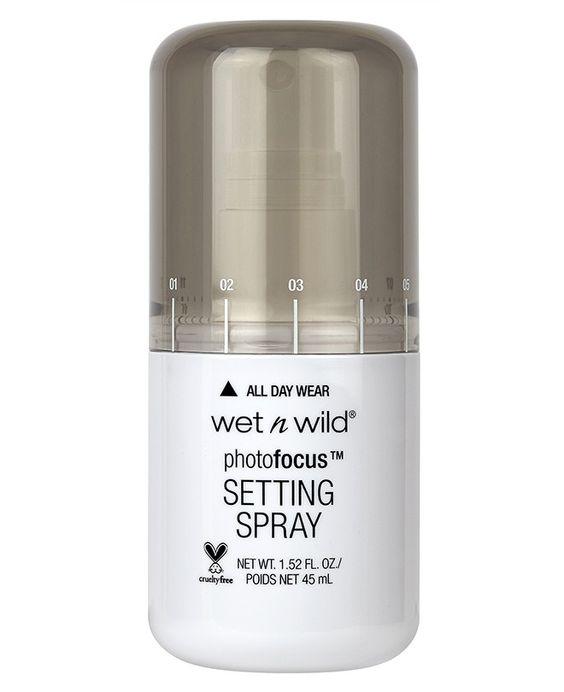 Colecciones de maquillaje primavera 2016 wet n wild spray fijador