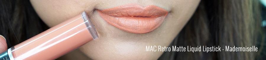 Labiales liquidos MAC Mademoiselle