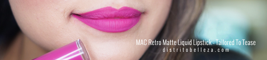 Labiales liquidos MAC Tailored to tease