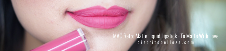 Labiales liquidos MAC Too matte with love