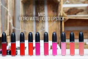 Labiales liquidos MAC distrito belleza