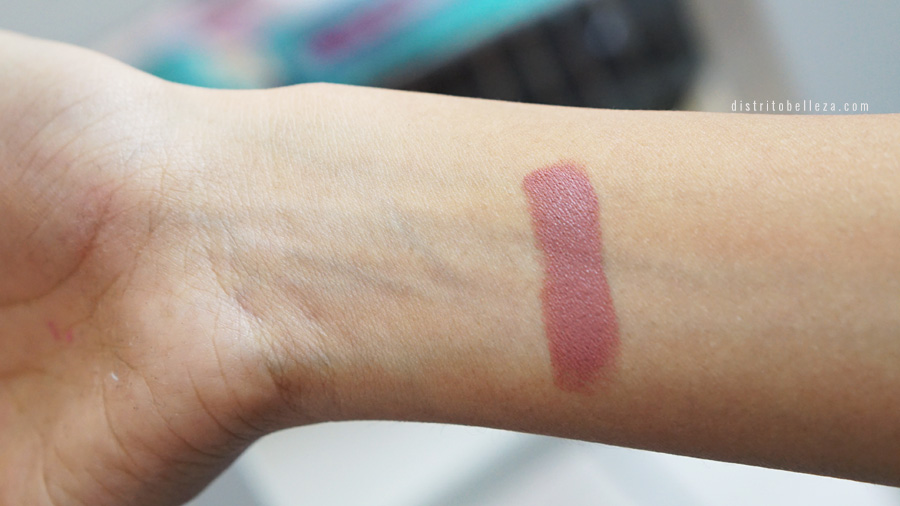 labial mac velvet teddy swatch