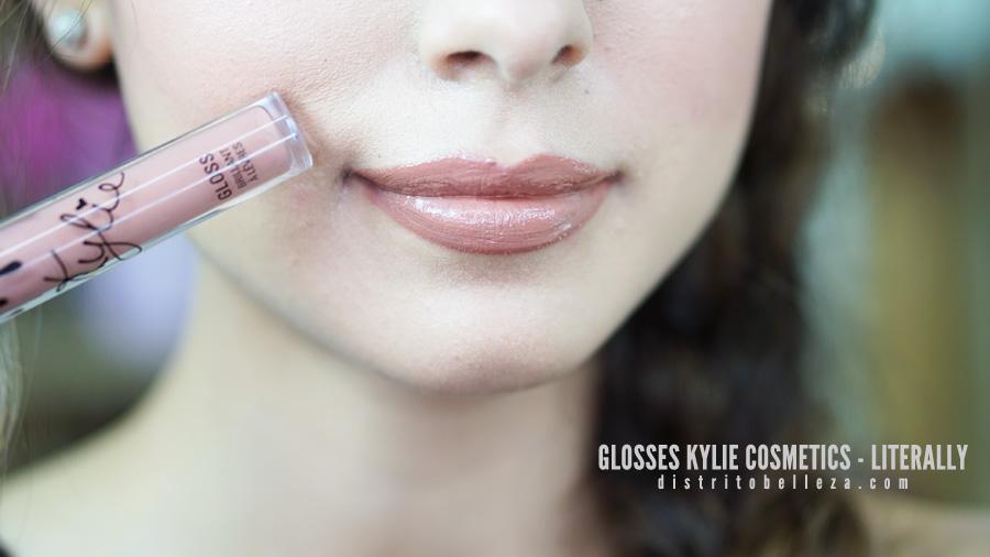 Glosses Kylie cosmetics LITERALLY