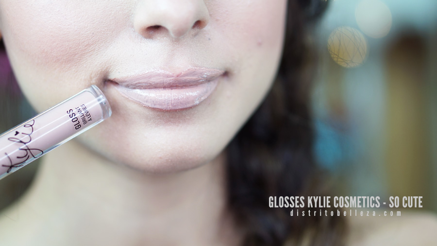 Glosses Kylie cosmetics SO CUTE