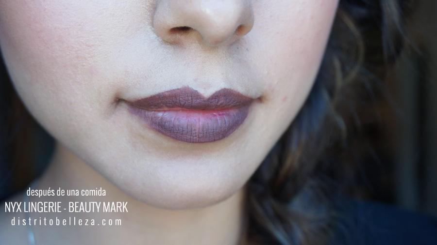 Labiales NYX Lingerie beauty mark