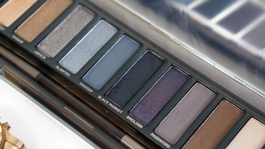 Paleta Naked Smoky Urban Decay colores