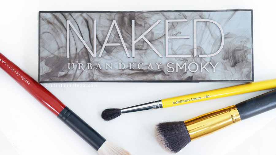 Paleta Naked Smoky Urban Decay empaque