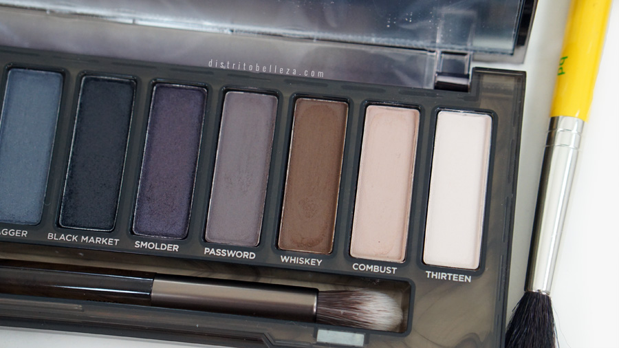 Paleta Naked Smoky Urban Decay mate