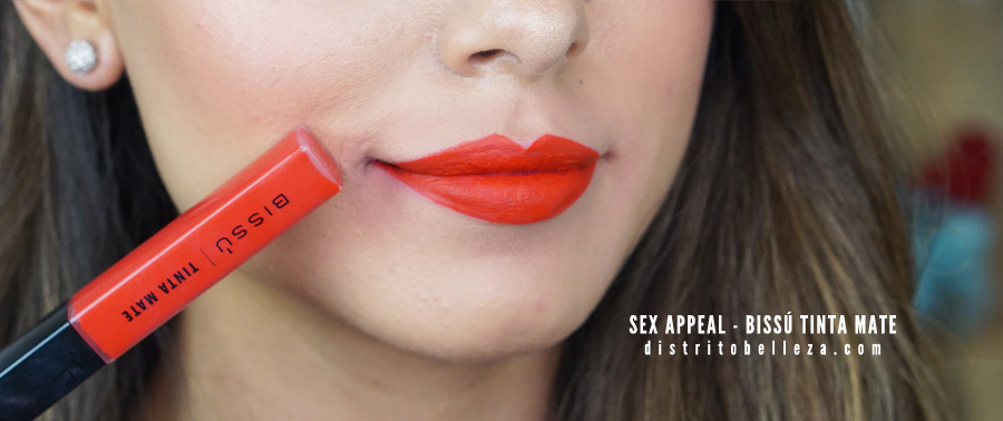 Bissú tinta mate sex appeal