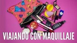 Como viajar con maquillaje distrito belleza