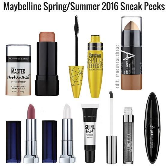 Colecciones de verano 2016 maybelline