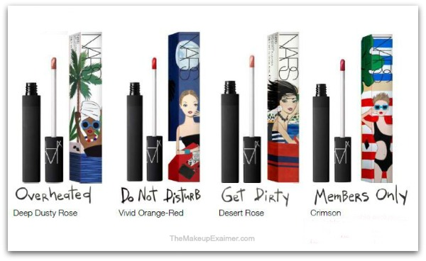 Colecciones de verano 2016 nars lips