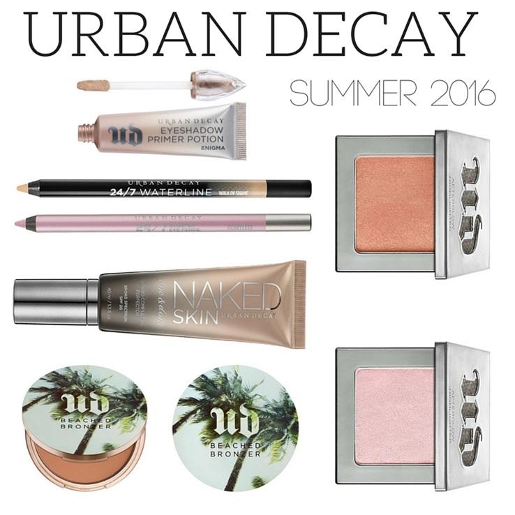 Colecciones de maquillaje verano 2016 urban decay