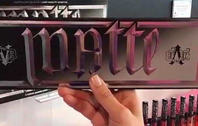 Colecciones de maquillaje navidad 2016 paleta matte metal