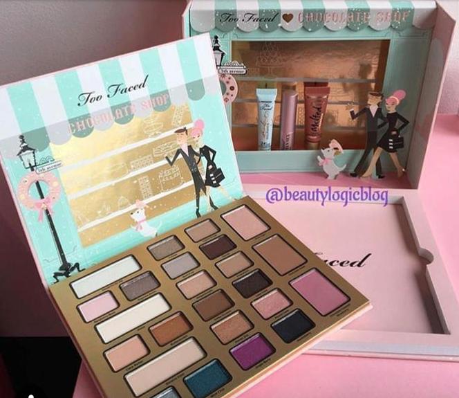 Colecciones de maquillaje navidad 2016 too faced paleta