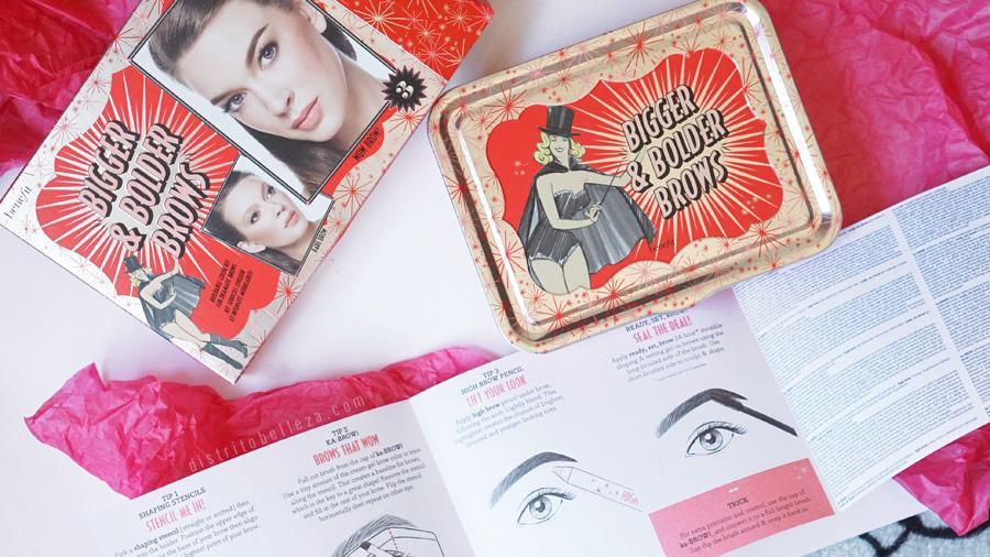 Kits para cejas Benefit bigger and bolder brows