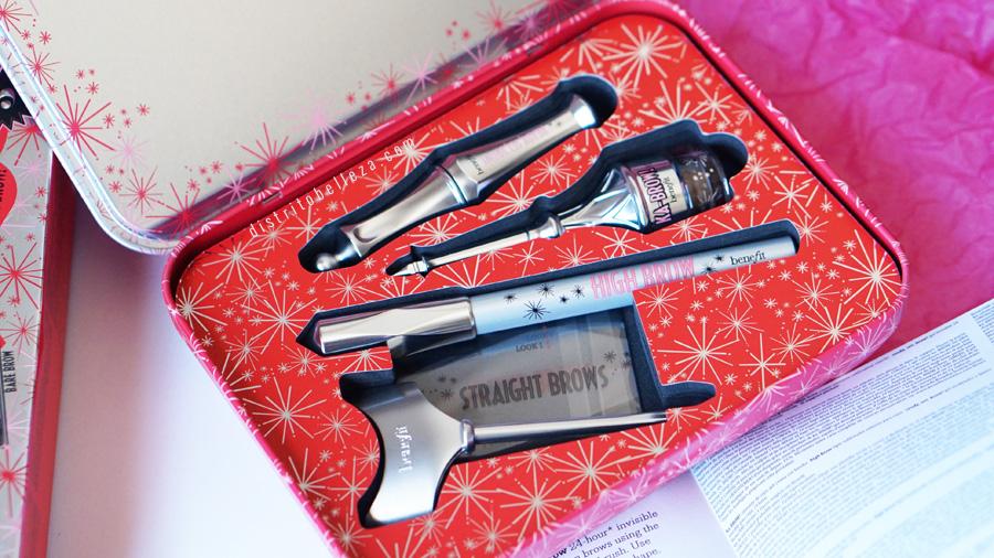 Kits para cejas Benefit bigger bolder brows
