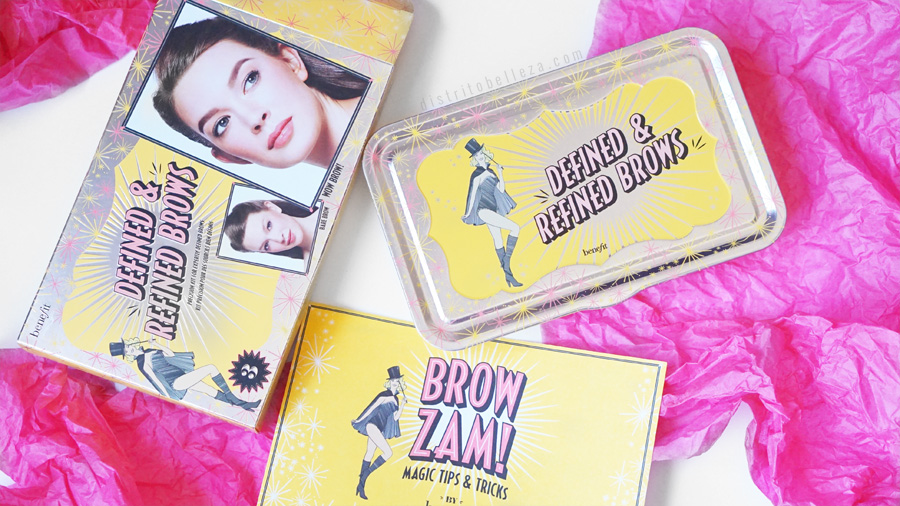 Kits para cejas Benefit defined and refined brows